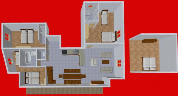 Appartement A LOUER SAINT JEAN D'ARVES